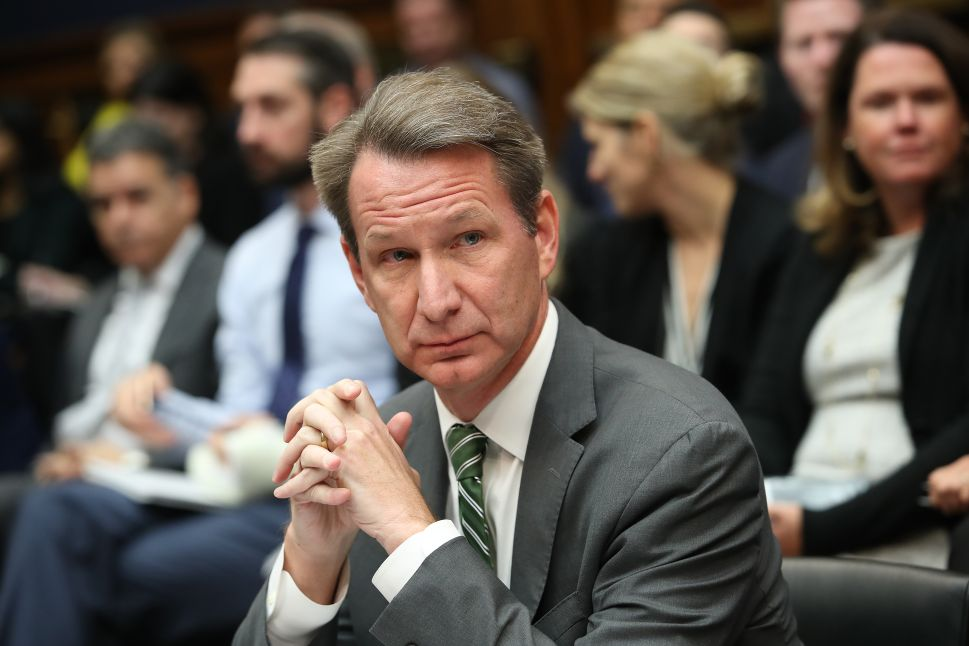 Norman Sharpless, acting commissioner of the Food and Drug Administration (FDA).