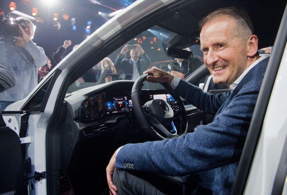 Herbert Diess, CEO of Volkswagen AG