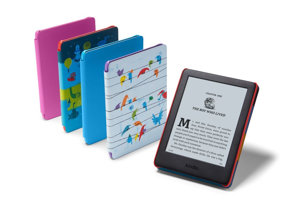 Amazon released a child-friendly version of its popular Kindle e-book reader.