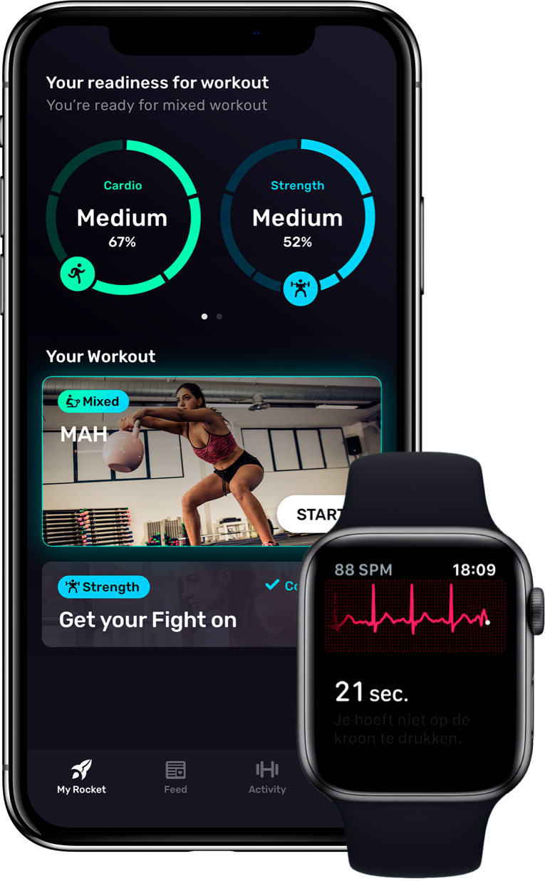 RocketBody pitched its Apple Watch app during TechCrunch Disrupt 2019 in San Francisco.