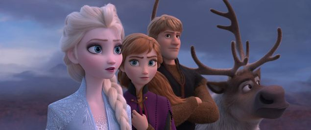 Disney Box Office Frozen II tracking projection opening weekend
