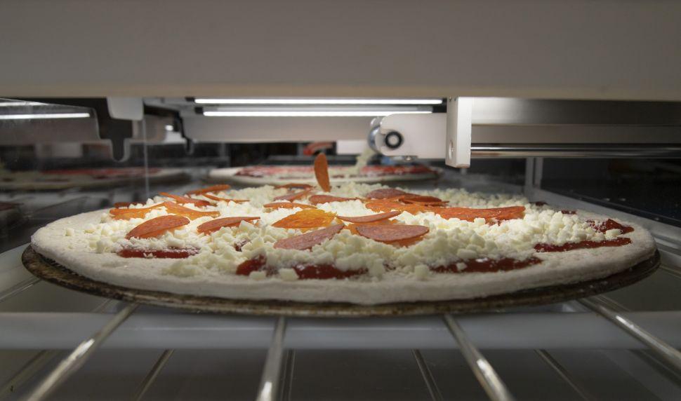 Robo-Pizza Picnic
