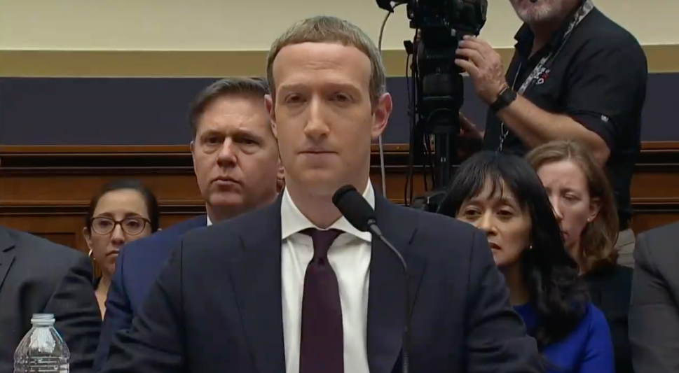 Mark Zuckerberg became dead-eyed by the end of Sherman's speech.