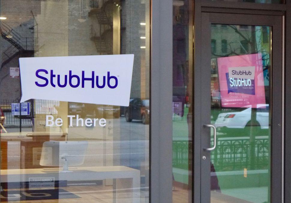 Parent company eBay is selling StubHub to European ticketing startup Viagogo.