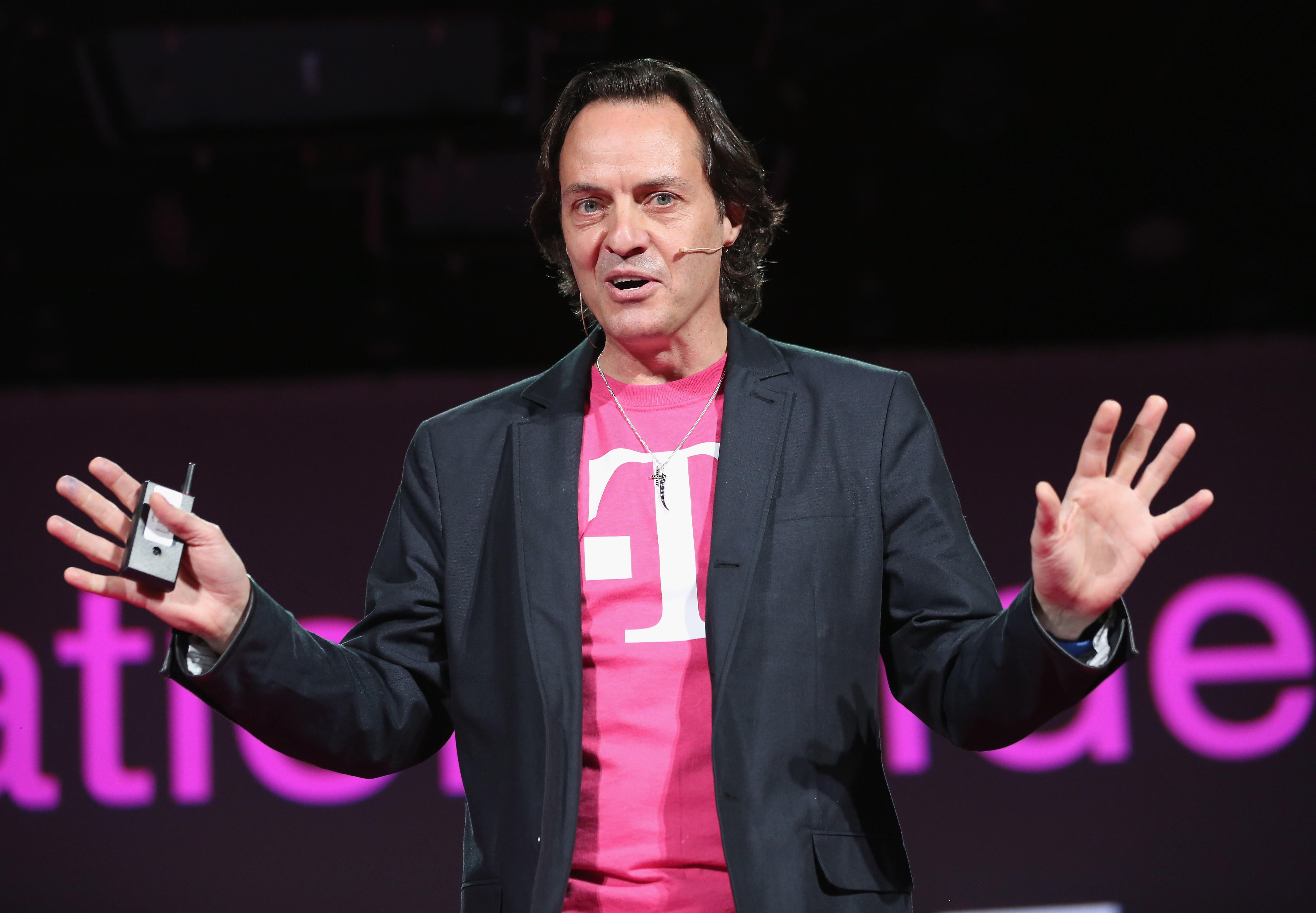 John Legere, CEO and president of T-Mobile USA, could become the next head of WeWork.