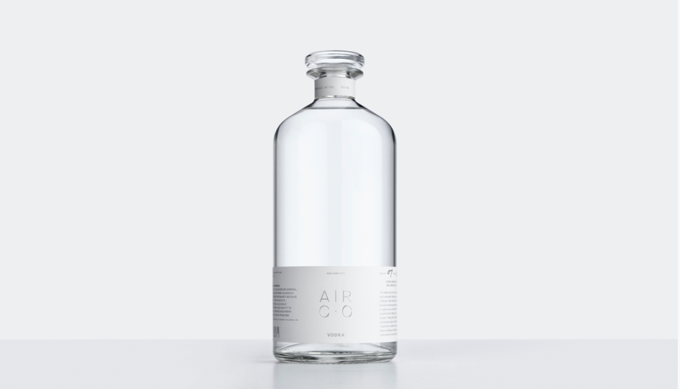 "Meet ""the world's first carbon-negative vodka."""