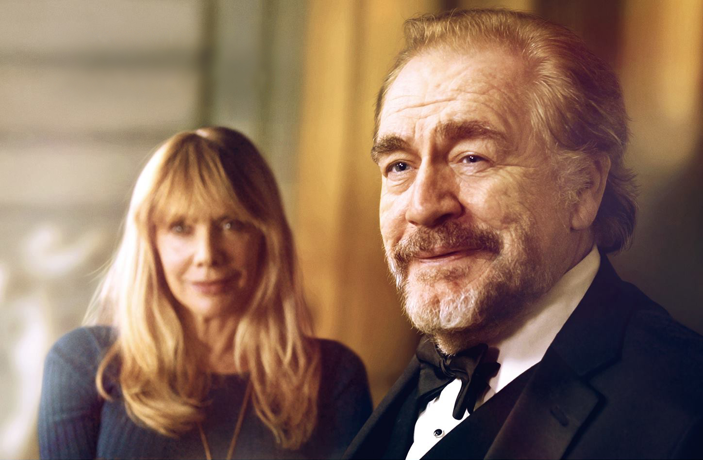 Rosanna Arquette and Brian Cox in The Etruscan Smile.