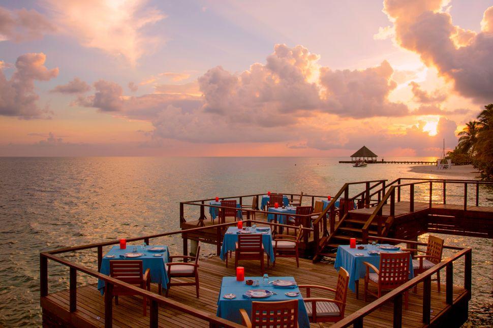A decent dinner view.