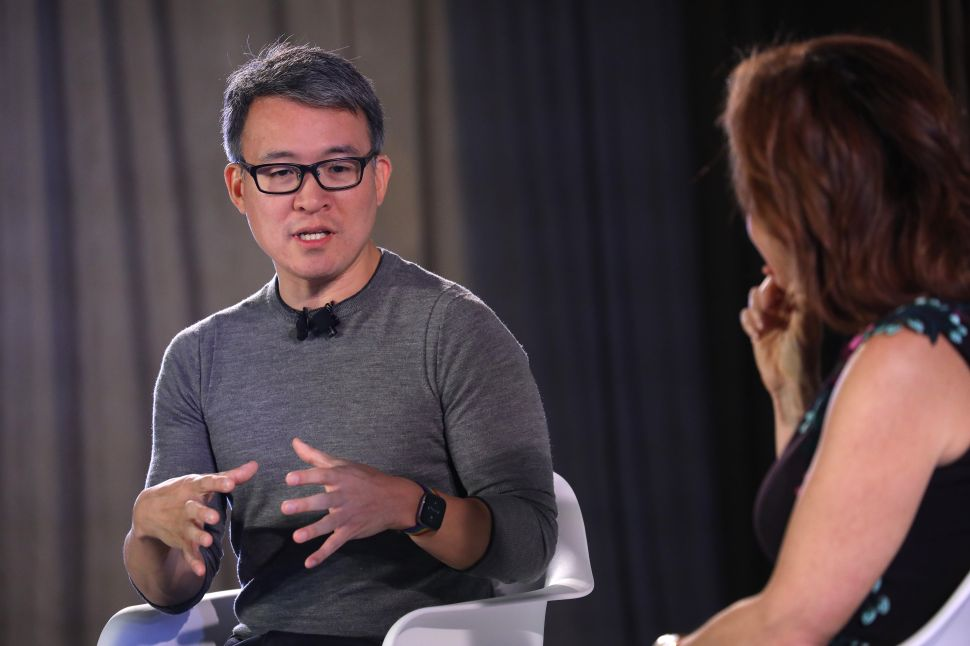 Fitbit CEO James Park is excited to sell the company to Google.