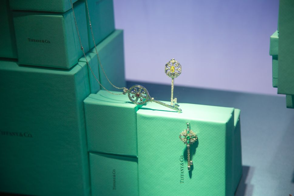 Tiffany & Co.'s third-quarter bottom line took a hit from the months-long political unrest in Hong Kong.