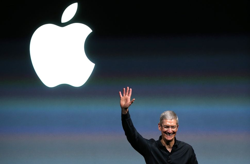 Apple CEO Tim Cook said the satellite project is now a priority at the company.