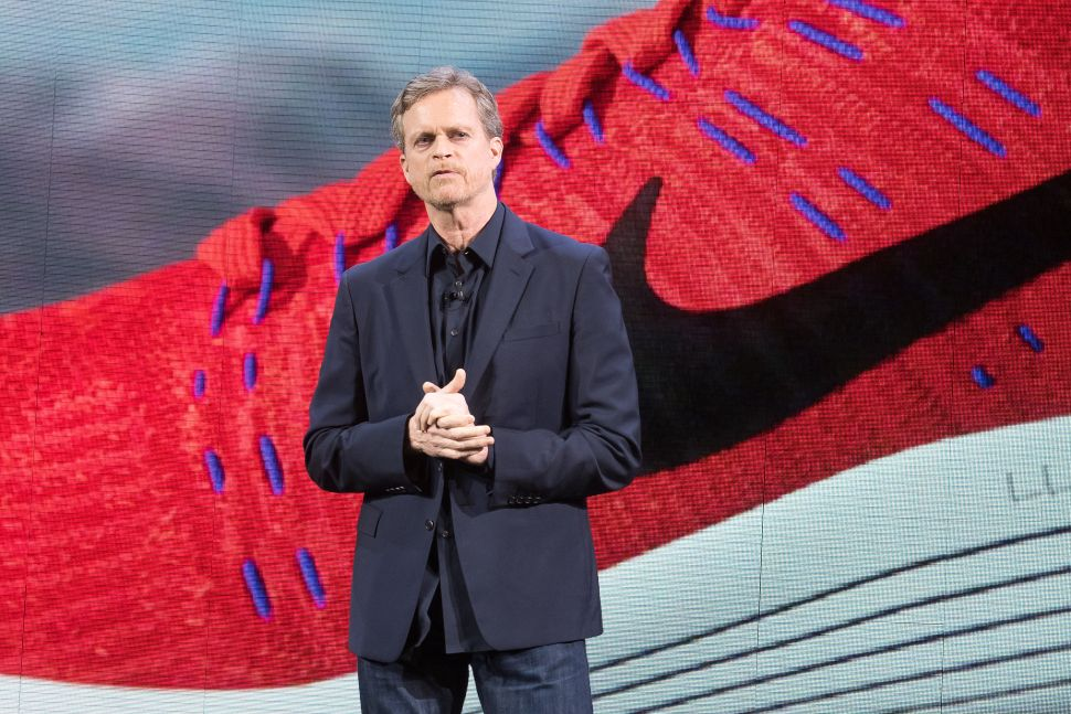 Nike's former president and CEO Mark Parker.