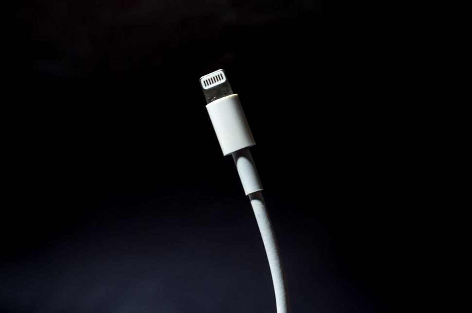 Before the thought of ditching the lightning charging cable was on our peripheral, the introduction of the eight-prong lightning charging cable itself, in 2012, was also a big annoyance.