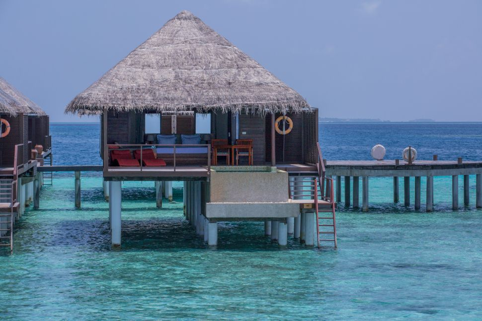And this is just one of the regular water villas.