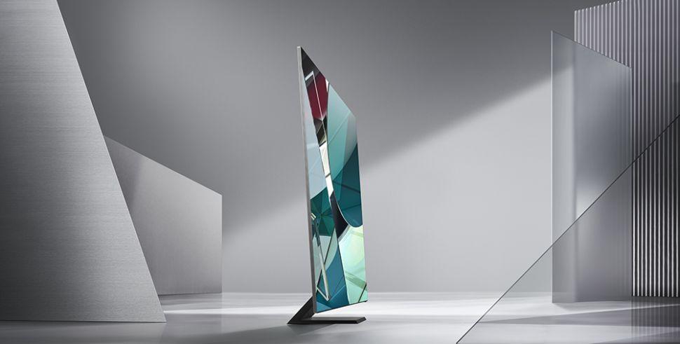 Samsung 2020 QLED 8K TV at CES
