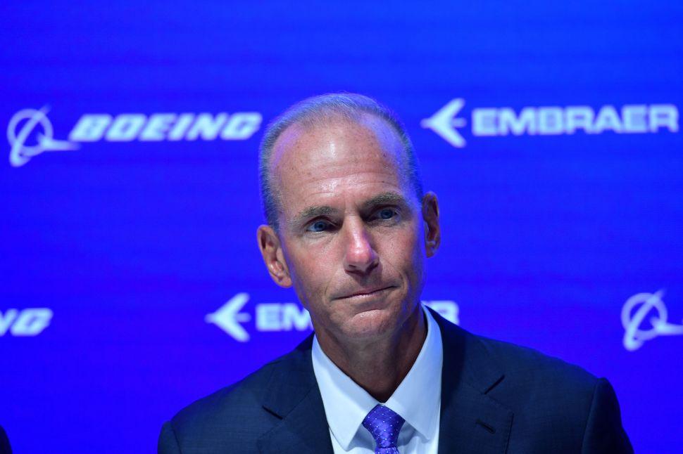 Former Boeing CEO Dennis Muilenburg.
