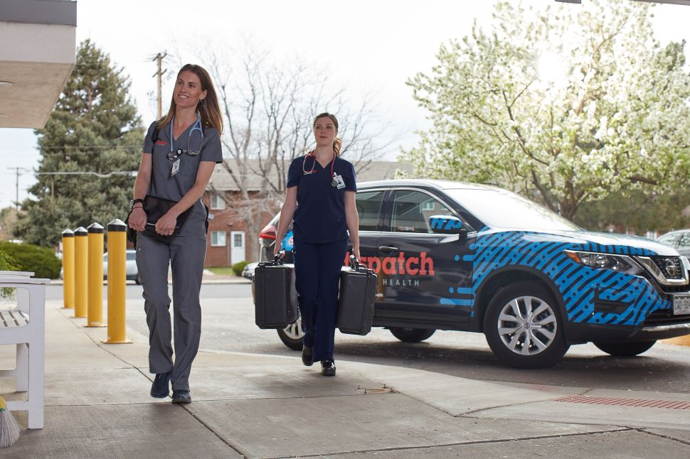 DispatchHealth is betting big that on demand health services at home will be part of the future of primary care.