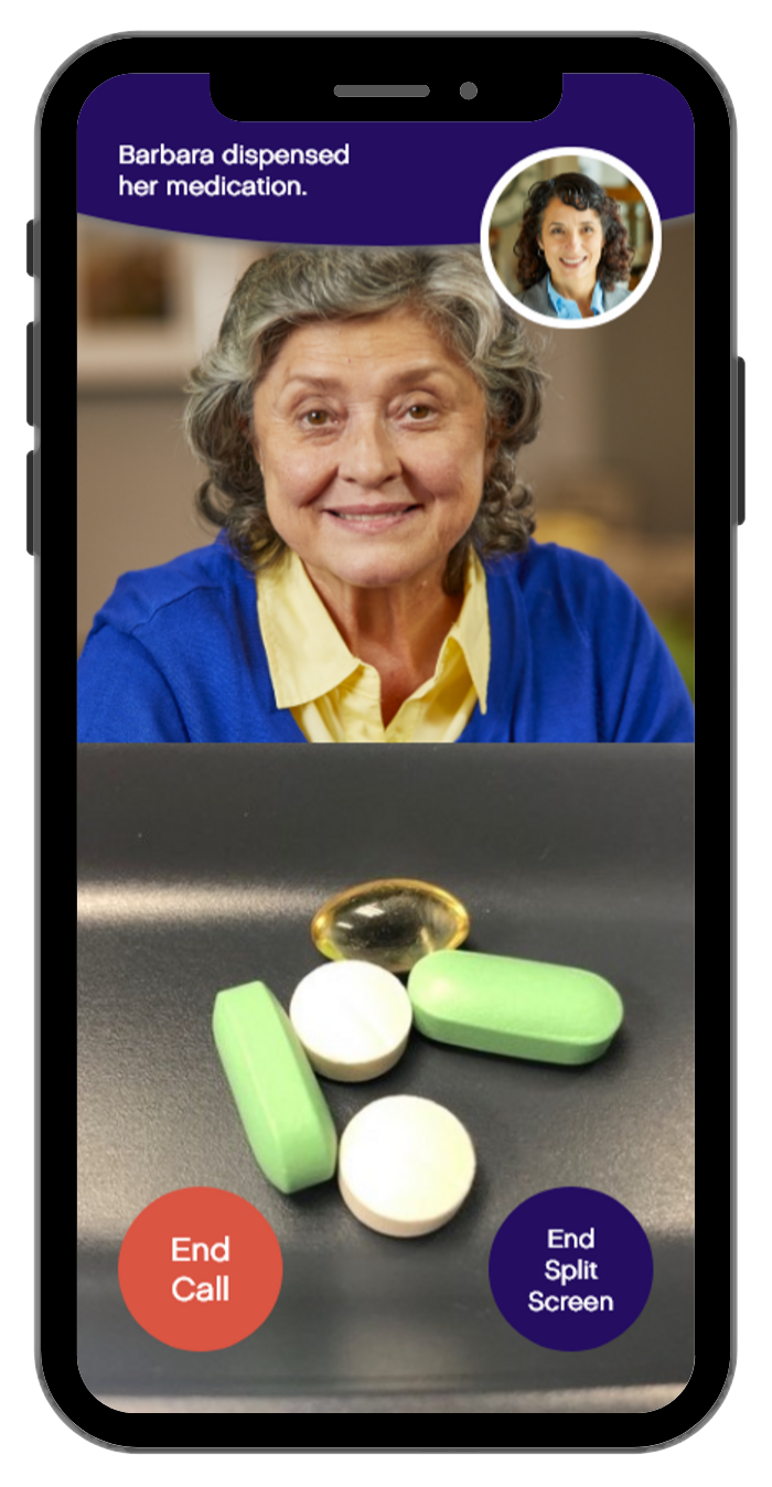 Ōmcare serves up a friendly face to tackle medication non-adherence.