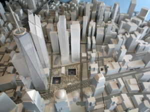 15 39 wtc model from above web 2 WTC Fight and the NYT