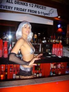bikini bartenders Will Gehrys $3,000 Studios Strip Downtown of a Bikini Bar, or Save It?