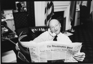 ed koch in his office How'd He Do? A Wonky New Bio Makes the Case That We Live in Ed Koch's New York