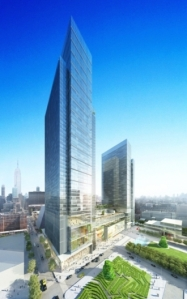 hudson 0 0 West Bank! First Boston in Running to Be First Tenant at Hudson Yards
