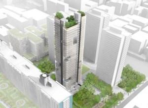nyu grimshaw tower Silver Sliver Showdown: NYU Files for Villages Tallest Building