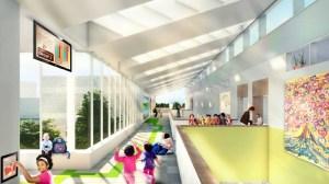 ps62 corridor som ABCs and Net Zeros: Citys First No Energy School