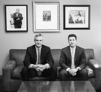 2 schechtman and haupsburg bw Duly Noted: Despite Q4 2011 Drop in Distress, Schechtman, Knakal and Others Rack Up Hundreds of Millions of Dollars in the Deals
