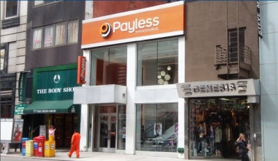 superdrypayless Superdry USA Takes Over Former Payless Shoe Source and Genesis