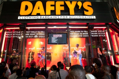 daffys fno window display 2010 An Investor is Daffy for Daffy: Bargain Bin Retailer Saved By Aurora