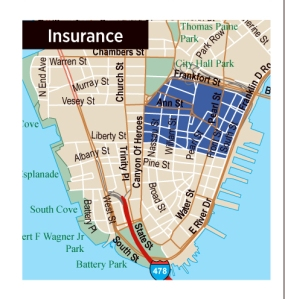 insurance These Days, Tenants Housed in Insurance Submarket Anything But