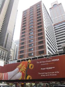 manhattan times square Wells Fargo Finances Manhattan at Times Square Hotel With $120 million