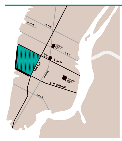 map 5 Trinity Real Estate, Hudson Square, Targeting Fashion Industry Tenants