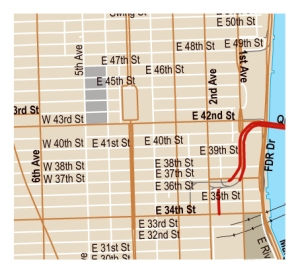 fifth ave for web 9 West 57th Street, Others Across Fifth, Command Highest Rent in Manhattan