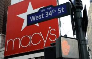 US-RETAIL-COMPANY-MACY'S