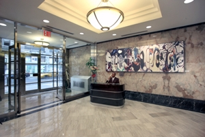 263 w 38th lobby Underground Visuals to Relocate to 263 West 38th Street