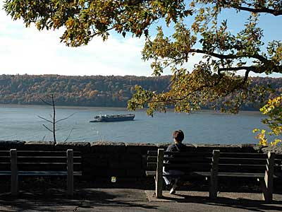 A view from Inwood's Fort Tryon Park