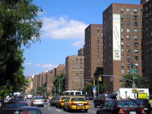 Stuy Town as seen from First Avenue