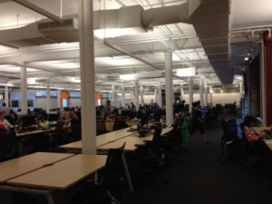 AppNexus's existing office on the fifth floor of 28-40 West 23rd Street.