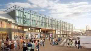 Renderings of the new Pier 17