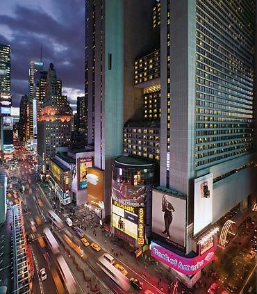 Marriott Marquis, Times Square (Credit: Marriott)
