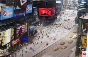 Renderings of the Times Square Reconstruction project (Credit: DOT)