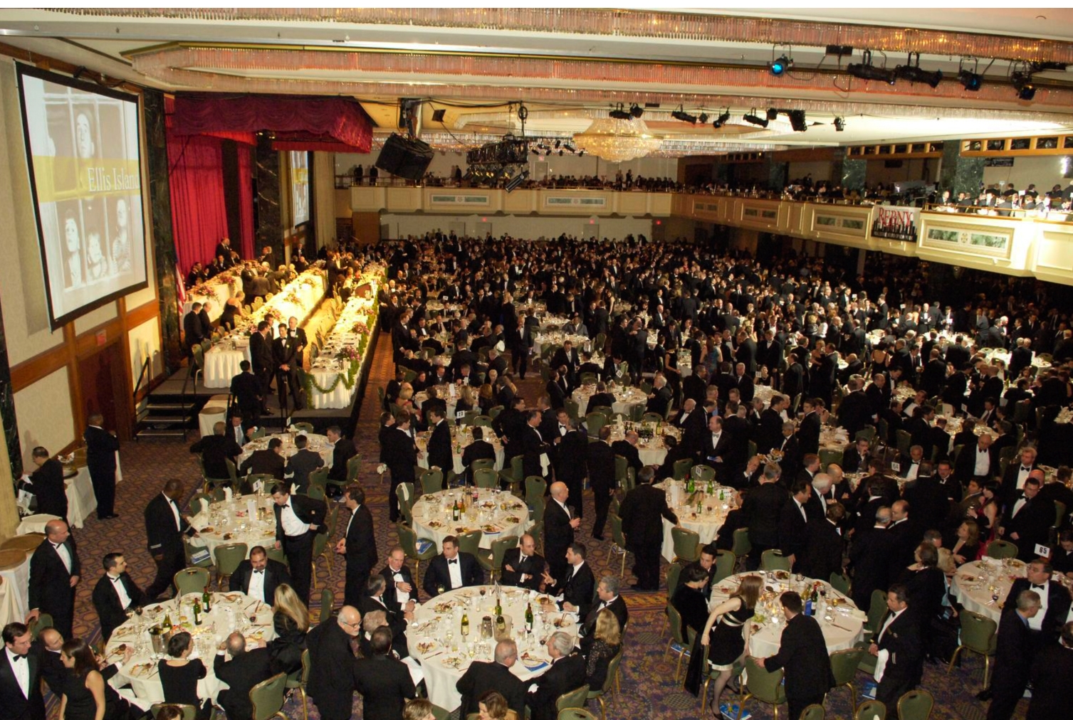 An image from the annual REBNY GALA