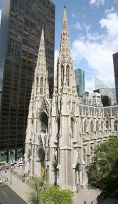 A new amendment allows St. Patrick's Cathedral and other landmarks to sell unused air rights