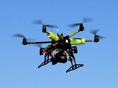 helicopter drone Flashy and Illegal, Drones Change the Commercial Real Estate Game