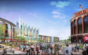 A rendering of Willets Point.