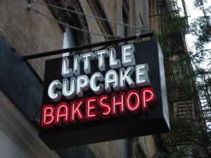 The Nolita branch of Little Cupcake Bakeshop