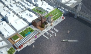 52906606e8e44efc1f00028a hao makes counter proposal to save sugar factory and stop luxury apartments in brooklyn s waterfront rendering overall 530x313 Architecture Firm Imagines an Arts Anchored Domino Sugar Site