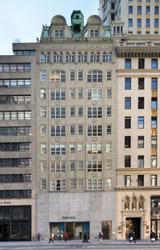 Prada's base at 724 Fifth Avenue (Courtesy of SL Green)
